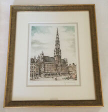 Roger Hebbelinck Limited Edition. Signed and Numbered 212/350 Beautifully Framed