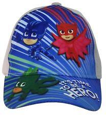 Disney PJ Masks Boys Baseball Hat Cap Adjustable Kids Gift Toy Toddler Age 2+