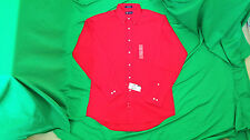 Chaps, wrinkle free. 15-15 1/2, 34-35 men's red shirt. NWT.