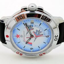 RUSSIAN VOSTOK (# 431066 NB) MILITARY WRIST WATCH KOMANDIRSKIE (BRAND NEW)