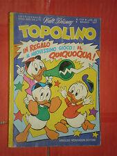 WALT DISNEY -TOPOLINO libretto- n° 1119- (L) - originale mondadori- anni 60/70