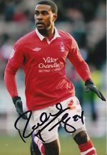 NOTTINGHAM FOREST HAND SIGNED ROBBIE FINDLEY 6X4 PHOTO.