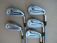 MIZUNO MX-100 IRONS REGULAR FLEX GRAPHITE SHAFT 6-PW IRON SET GOLF CLUBS MX100