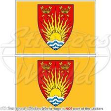 SUFFOLK Contea Bandiera, Ipswich UK Inglese Adesivi in Vinile per Auto Sticker