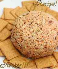 "☆Buffalo Ranch Cheese Ball ""RECIPE""☆Ahh...mazing!☆Snacktime/Super Bowl Goodies!☆"