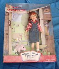 Fern from Charlotte s Web Doll - When I Read I Dream - New in Box