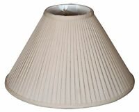 Royal Designs Coolie Empire Side Pleat Basic Lamp Shade