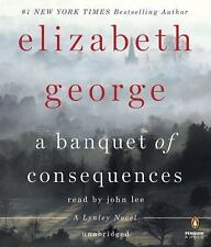 A Banquet of Consequences: A Lynley Novel by Elizabeth George Audio CD SEALED