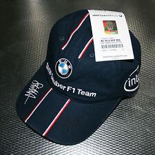 Sauber BMW Sebastian Vettel Signed 2007 cap - Rookie first cap - Rare
