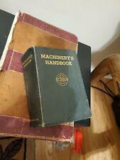 Vintage Book -Machinery's Handbook - 1944 - 12th Edition - Nice Condition