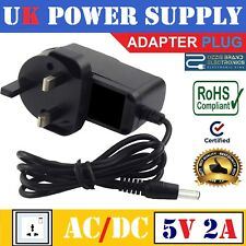 UK 5V 2A AC/DC POWER SUPPLY ADAPTER PLUG COMPATIBLE FOR MEDELA SWING BREAST PUMP