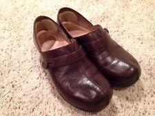 Womens Dansko Solstice Clog Shoe #9815450200 Brown Leather EU 38 US 7.5 to 8