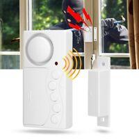 Door Window Alarm Home Security Wireless Magnetic Sensor Burglar Anti-Theft