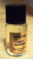 """TOM FORD """"Vert Bohème"""" EAU DE PARFUM 4 ML LUXURY FRAGRANCE"""