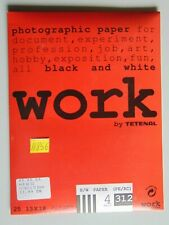 Work BY Tetenal B/W (PE/RC) 4Hard 312Semi-Matt Fotopapier 25Blatt 13x18