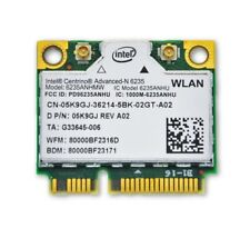 Dell Intel Centrino Advanced-N 6235 Wireless WiFi 802.11 a/g/n 5K9GJ