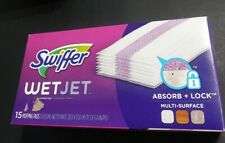 SWIFFER 15ct WetJet Cleaning Mopping Pads Floor Cleaner Refill Cloths Dust 99042