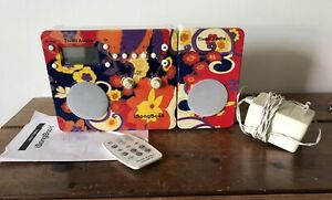 Tivoli Audio isongbook AM/FM Radio Alarm Clock Remote iPod ANTHROPOLOGIE Floral