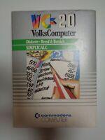 """COMMODORE VC-20 / VIC-20 --> SIMPLICALC / 5,25"""" DISKETTE"""