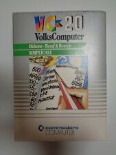 "COMMODORE VC-20 / VIC-20 --> SIMPLICALC / 5,25"" DISKETTE"