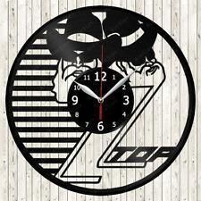 Zz Top Vinyl Record Wall Clock Decor Handmade 2113