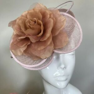 One Off Pale Lilac Designer Fascinator by Hat Couture Wedding Bridal Racing Hat