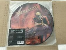 MEGADETH -Peace Sells But Who's Buying- **Sealed LP** Limited Ed. Picture Record
