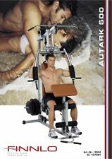 Finnlo Autark 500 Manuale di assemblaggio Multi Gym