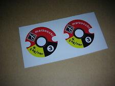 MARZOCCHI Adesivi Sticker Aufkleber Geländesport Twinshock, Vintage Enduro, AG3