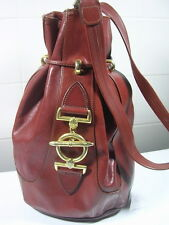 SAC A MAIN  TEXIER EN CUIR ANCIEN DE COLLECTION