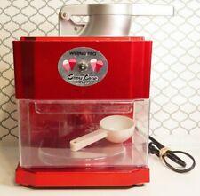 New Listingwaring Pro Red Snow Cone Maker Machine Scm100 Clean Working G