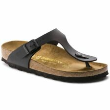 Leather Narrow (AA, N) Low (3/4 to 1 1/2 in) Heel Height Sandals for Women