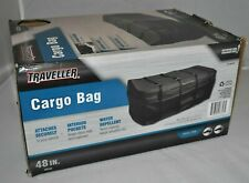 "Traveler Hitch Cargo Carrier Rack Waterproof Bag Luggage Travel Black 48"" L"