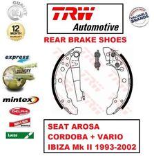 Para Seat Arosa Cordoba + Vario Ibiza Mk II 1993-2002 Eje Trasero Juego de