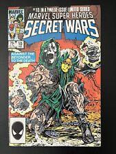 Marvel Super-Heroes Secret Wars 10 High Grade Classic Dr Doom Cover 1984 CGC It!