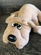 "Vintage Tonka Pound Puppy 18"" Tan Brown Long Ears Plush Dog Tonka Puppies"