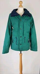 #B5 Vintage Sprayway Green Ladies Padded Winter Jacket UK 12-14