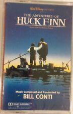 Disney's  Adventures of Huck Finn Soundtrack cassette Bill Conti 1993 Sealed