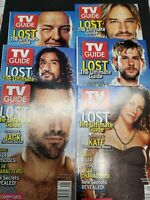 LOST TV Series TV Guide set
