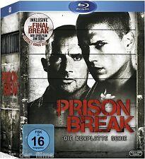 PRISON BREAK, Die komplette Serie (23 Blu-ray Discs + Bonus-DVD) NEU+OVP