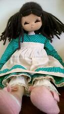 VINTAGE RAG DOLL 1970 * MARY JOCK* MADE IN  ITALY PANNO LENCI