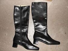 Paire de bottes Femme Armée Française en cuir taille 38 - Neuves