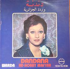 arabic 1975 LP-WARDA Al-JAZAIRIA-dandana- ad hobbu mafish-sout el hob-greece NM