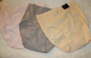 NWT~Modern Movement Brief Panties~nylon/spandex~S XL~seamless~Y72UN103~Beige