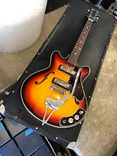Silvertone 14558 1960s-70s Japan Hollow Body Electric Guitar NICE Teisco lawsuit