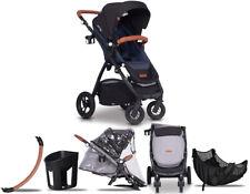 Easy Go Optimo Air Stroller Passeggino Kinderwagen Poussette ✔ Denim