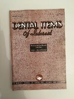 Dental Items Of Interest N° 6 A Monthly Giornale June 1938