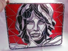 "The Doors ""Jim Morrison"" Genuine Stained Glass Original Artwork *Must See!*"