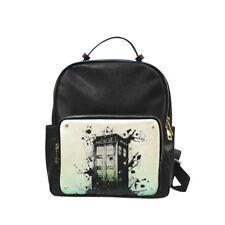 Tardis Police Box Splashed Leisure Backpack Bag School Bag