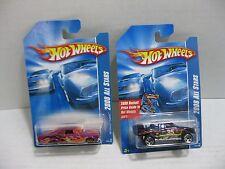 Hot Wheels 2008 All Stars Toyota Baja Truck 65 Chevy Impala Lot of 2 Cars HW#73